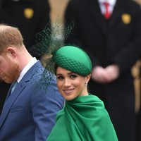 Harry and Meghan make last official appearance as senior royals
