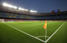Barcelona will face Napoli in an empty Camp Nou next week