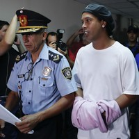Ronaldinho refused bail following allegations of entering Paraguay with a fake passport