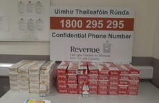 Over 33,000 cigarettes seized by customs officers in Dublin