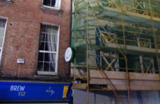 Road closed in Cork after partial building collapse