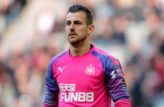 Slovakia dealt major injury blow as Dubravka is ruled out of Ireland play-off