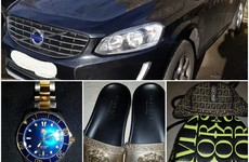 Three designer bags, four luxury watches and two cars seized in 'significant' Dublin raids
