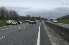 Two men arrested, €8.5k of cocaine and €31k of cash seized after Cork motorway checkpoint