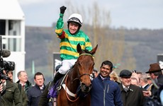 Champ storms to stunning last-gasp RSA success at Cheltenham for Geraghty and JP