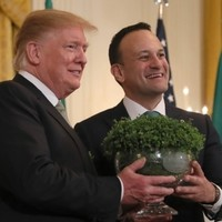The annual White House shamrock reception has been cancelled