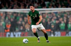 Injury setback leaves Stevens doubtful for Ireland's play-off against Slovakia