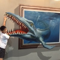 Photos: 3-D paintings that come alive (almost)