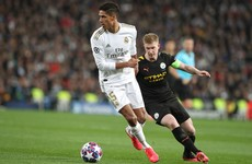 Man City's Champions League clash with Real Madrid postponed
