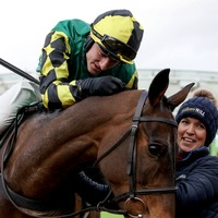 50-1 outsider upsets defending champ Paisley Park to claim Stayers' Hurdle