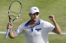 Roddick returns serve on equal pay