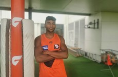 Breaking gym records and getting the dressing room hopping: Derry teen Brown embracing AFL adventure