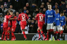 Rangers on the brink of Europa League exit after home defeat to Bayer Leverkusen