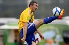 Byrne identity: Veteran striker feeling at home with Seagulls