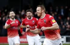 Irish striker Rooney departs Salford City