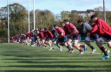 Training set to be suspended for Leinster, Ulster, Connacht, and Munster