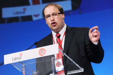 Patrick Nulty at the Labour Party conference earlier this year