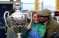 'She has little faith in herself': Cork jockey wins 'Amateur Gold Cup' with 66/1 outsider