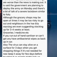 Debunked: No, the HSE is not telling people to stockpile food, despite what this WhatsApp message says