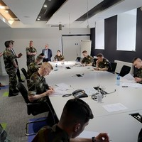 80 Defence Forces cadets are being trained in Covid-19 contact tracing
