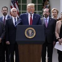 Donald Trump declares 'national emergency' over coronavirus