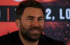 Hearn not keen on fights behind closed doors but accepts he may have to explore the option