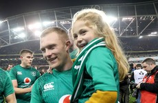 Keith Earls issues plea on behalf of his daughter for the public to 'listen to the professionals'
