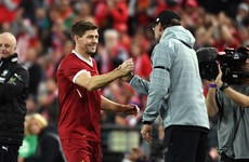 'Get it horribly, wildly wrong' – Jurgen Klopp's advice to Steven Gerrard