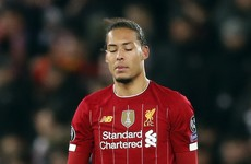 Van Dijk fears Liverpool will win title in empty stadium