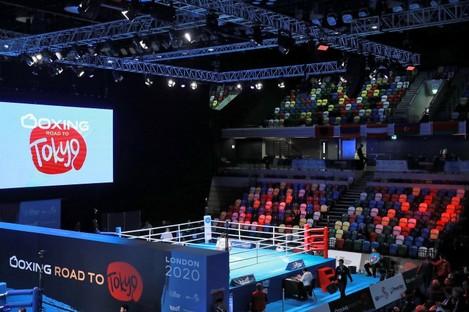 The Copper Box Arena.