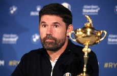 Harrington says this year's Ryder Cup will go ahead as things stand