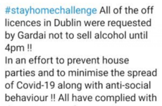 Debunked: No, gardaí did not ask off-licences to open late on St Patrick's Day to stop house parties