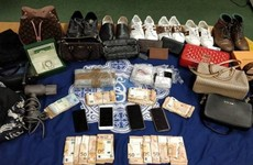 Gardaí from Dublin's K District seize €163k worth of cocaine and €25k in cash after car searches