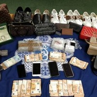 Gardaí from Dublin's K Districtseize €163k worth of cocaine and €25k in cash after car searches