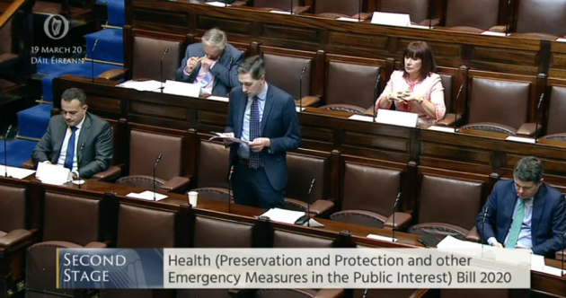 Emergency Covid-19 legislation passes all stages in the Dáil