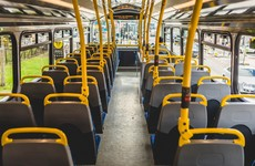Significant drop in number of people using public transport