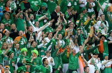 Ireland fans to receive 'special award' from UEFA