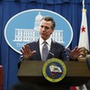 California governor urges state's 40 million residents to 'stay at home'