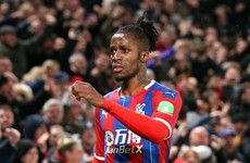 Wilfried Zaha offers free accommodation to NHS staff
