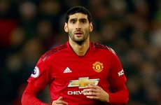 Marouane Fellaini tests positive for coronavirus