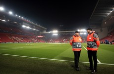 Liverpool FC offer stewards to supermarkets amid virus panic