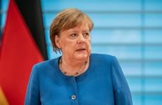 Coronavirus: Merkel goes into quarantine as Germany bans gatherings of more than two people