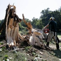Five killed as severe storms strike eastern US