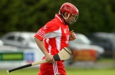 Seanie Johnston starts hurling club g... Oh, wait, he's gone off...