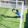 Schmeichel and De Gea praise young Irish goalkeeper training out his back garden