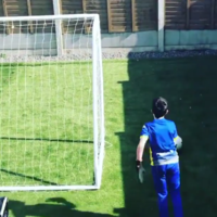 Peter Schmeichel praises young Irish goalie's ingenious way to train while in self-isolation