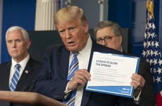 'Our country is meant to be open': Donald Trump could remove Covid-19 restrictions by next week