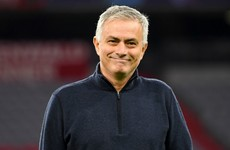 Jose Mourinho helps deliver food parcels to elderly