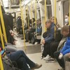 Packed trains on the Underground again today despite Boris Johnson's appeal in lockdown London