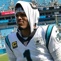 Former NFL MVP Cam Newton released by Carolina Panthers